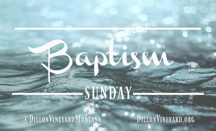 Baptism & Mexican Food Potluck- August 27th After Church