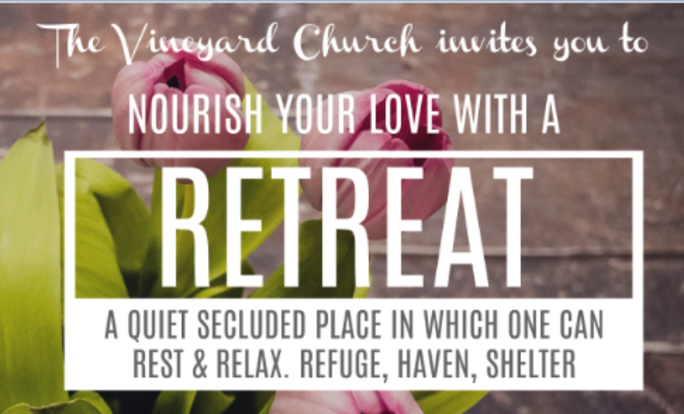 Vineyard Marriage RETREAT- February 16-18, 2018